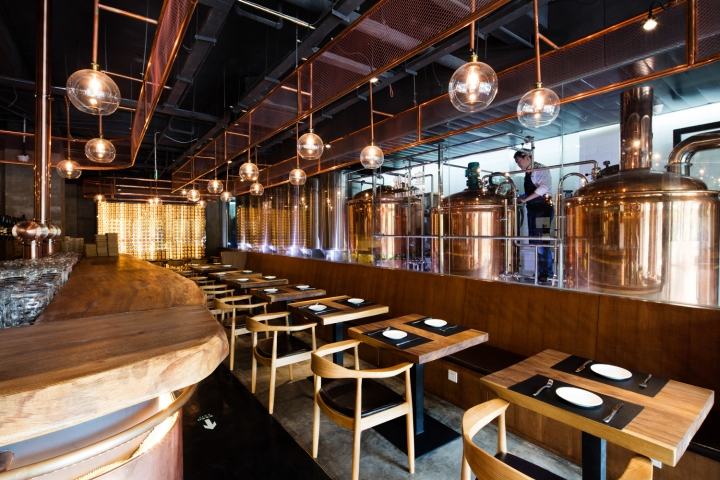 Dongli Brewery in Peking
