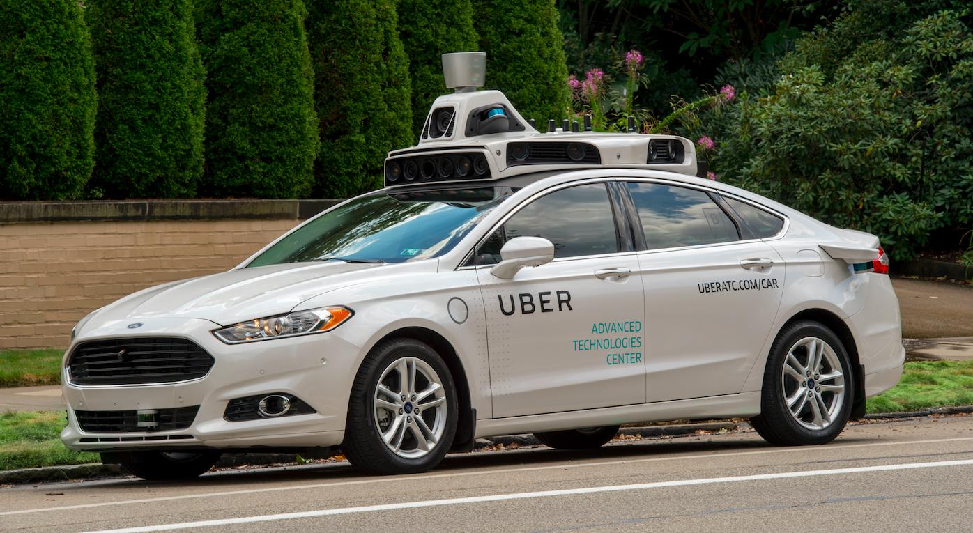 Das selbstfahrende Taxi von Uber