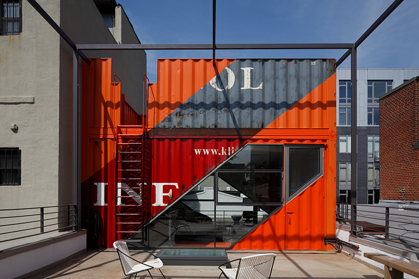 Schiffscontainer-Loft in Brooklyn