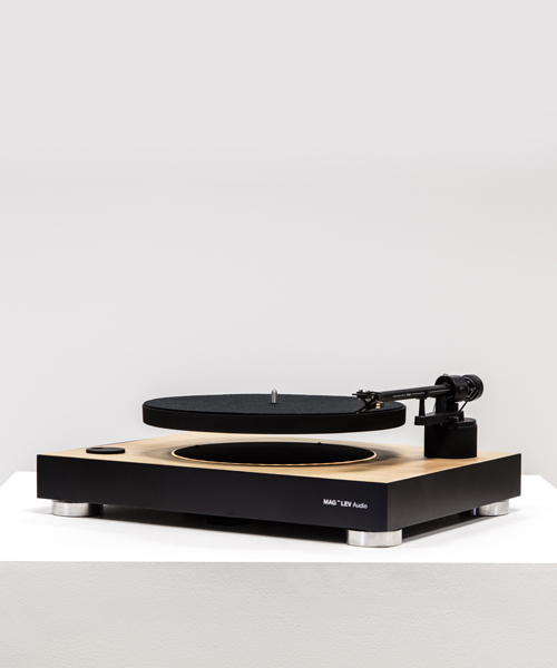 Schwebende Schallplatten dank MAG-LEV Audio