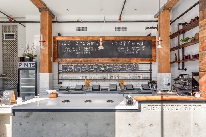 Earnest Ice Cream Store in Vanvouver