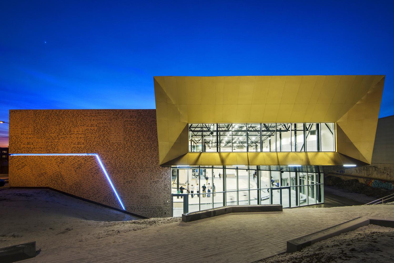 Skaterhalle in Oslo