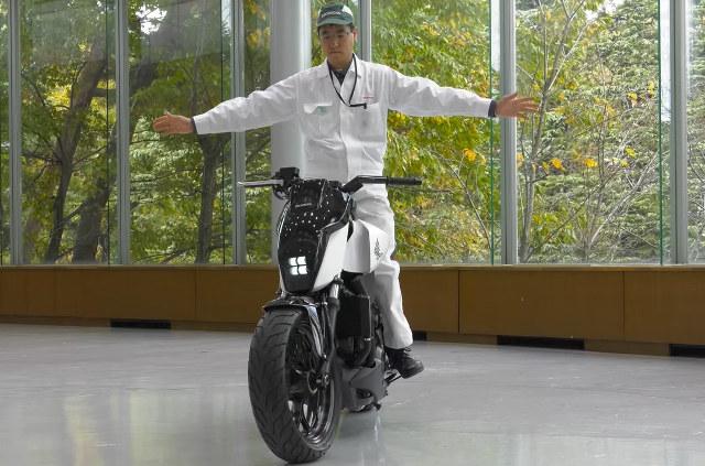 Selbstbalancierendes Bike von Honda