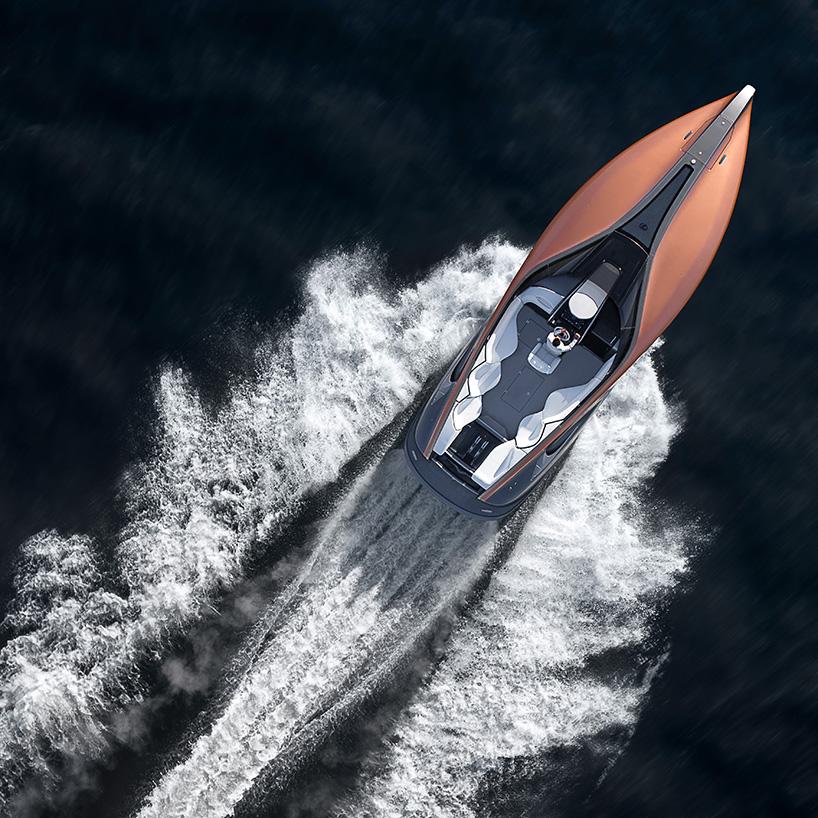 LEXUS baut eine Sport-Yacht