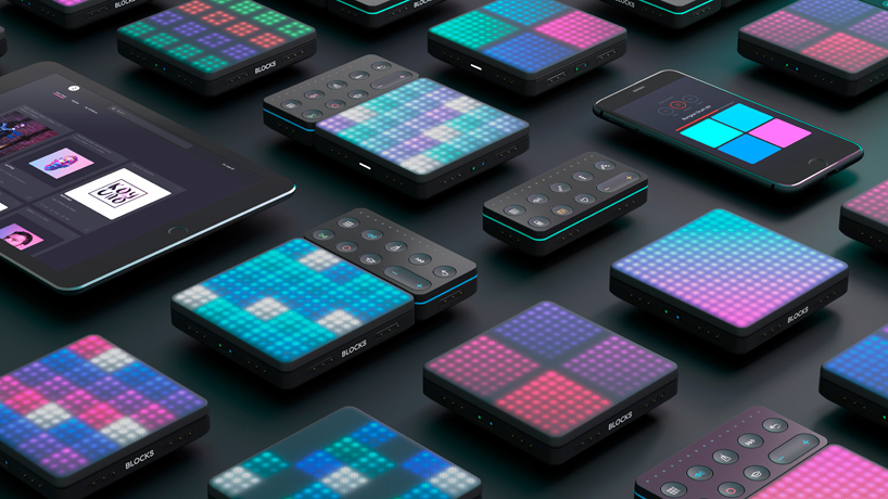 roli BLOCKS multitouch music system