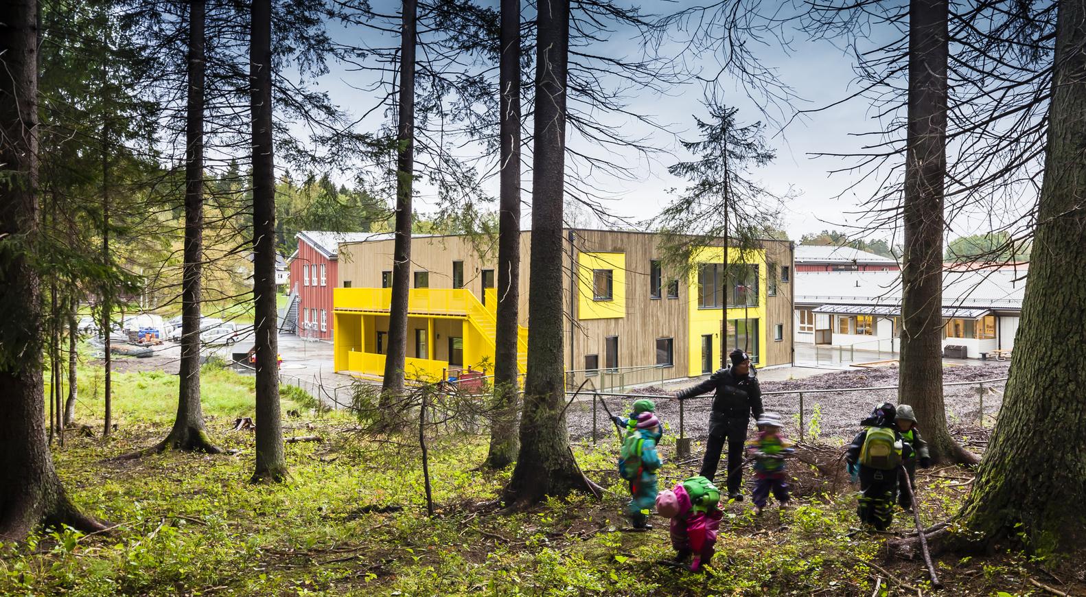 Kindergarten in Vendelsö