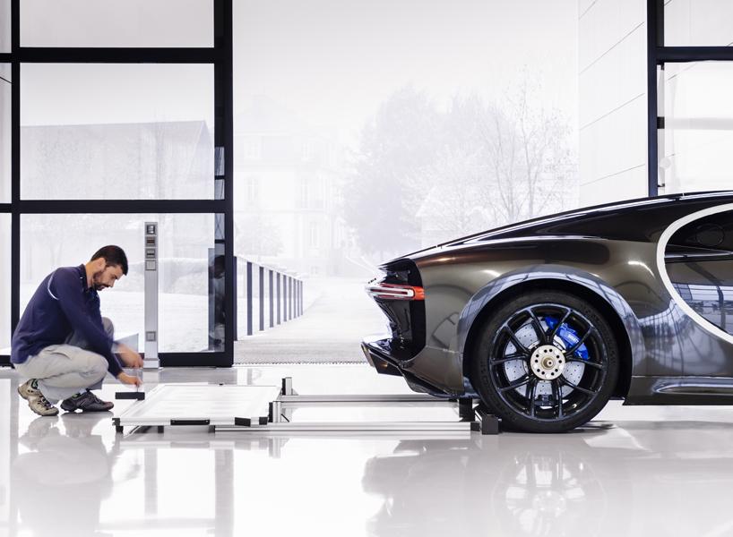 Bugatti Werkstatt in Molsheim