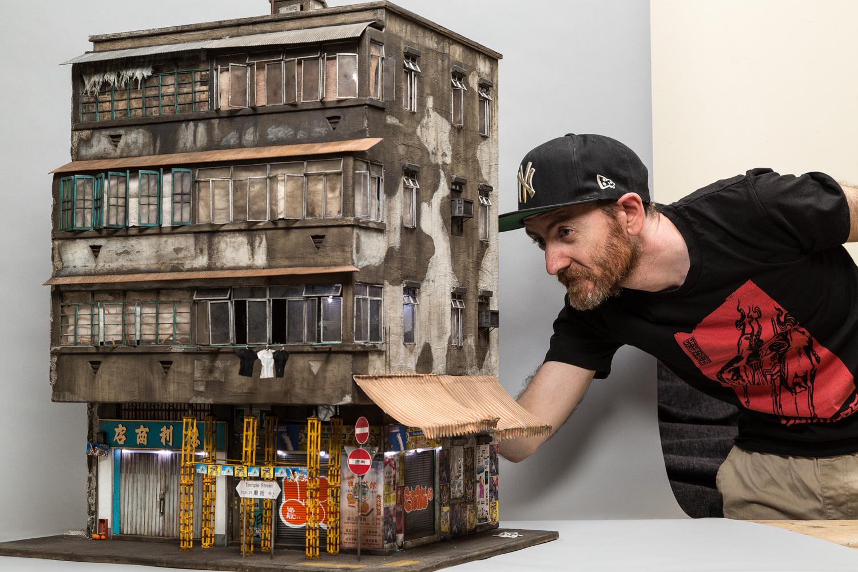 Mikro-Modelle von Joshua Smith
