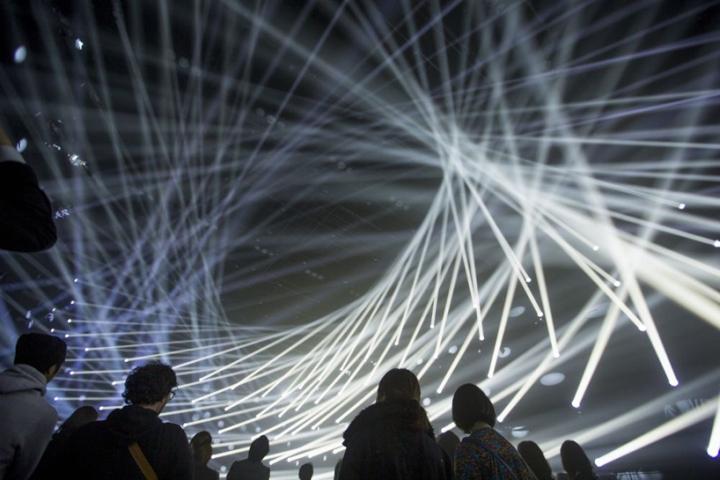 Lichtinstallation 'Jungle' von Teamlab