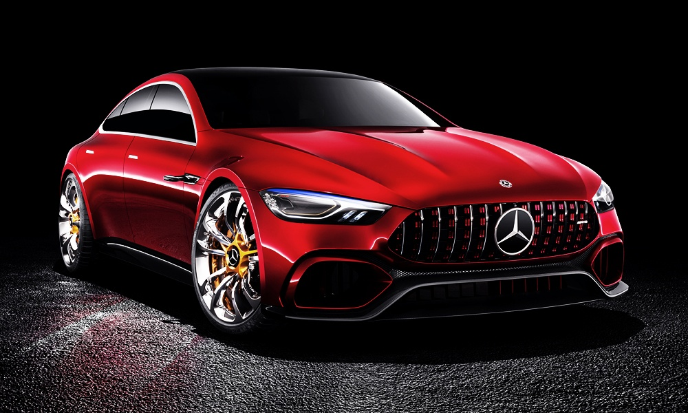 Mercedes AMG GT Konzept
