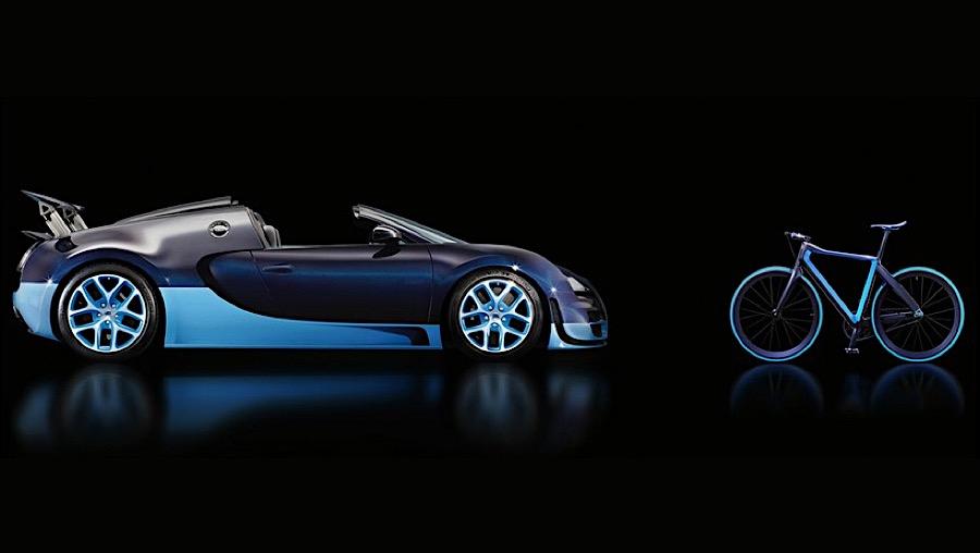 Bugatti & PG - Karbon-Bike