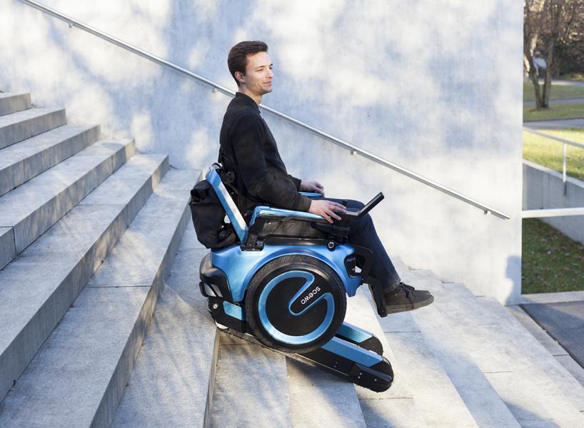 SCEWO - Der Treppensteigende Rollstuhl by @ETH