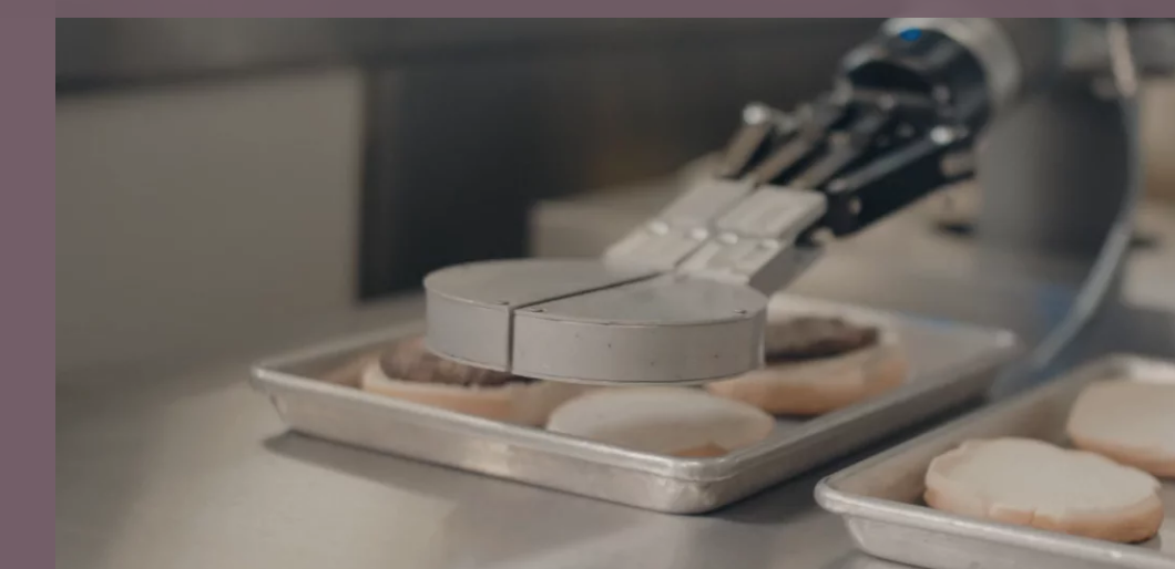 Der Burger-Roboter FLIPPY