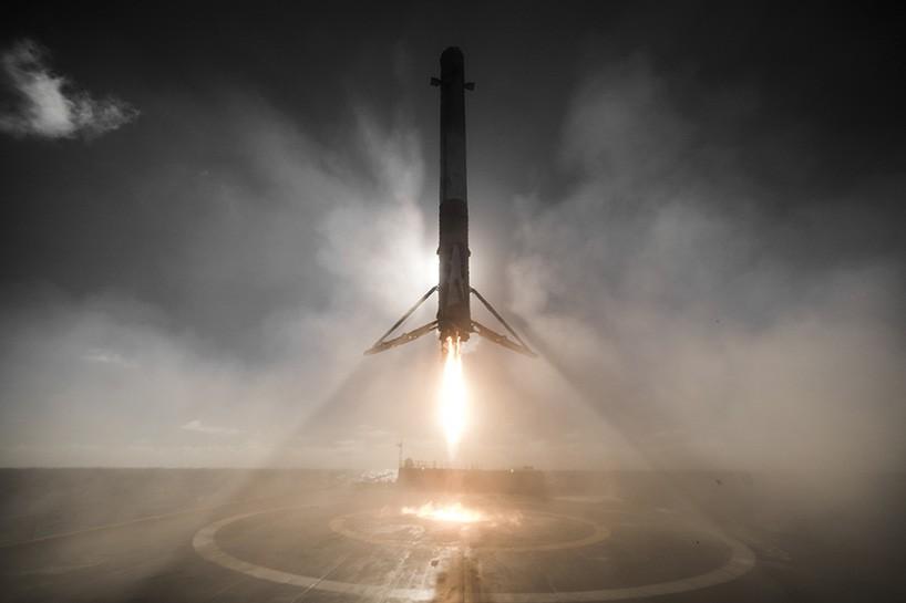 SpaceX Falcon 9 landet erfolgreich!