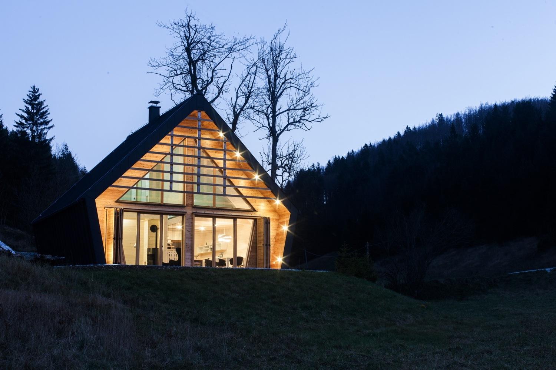 The Wooden House in Slowenien