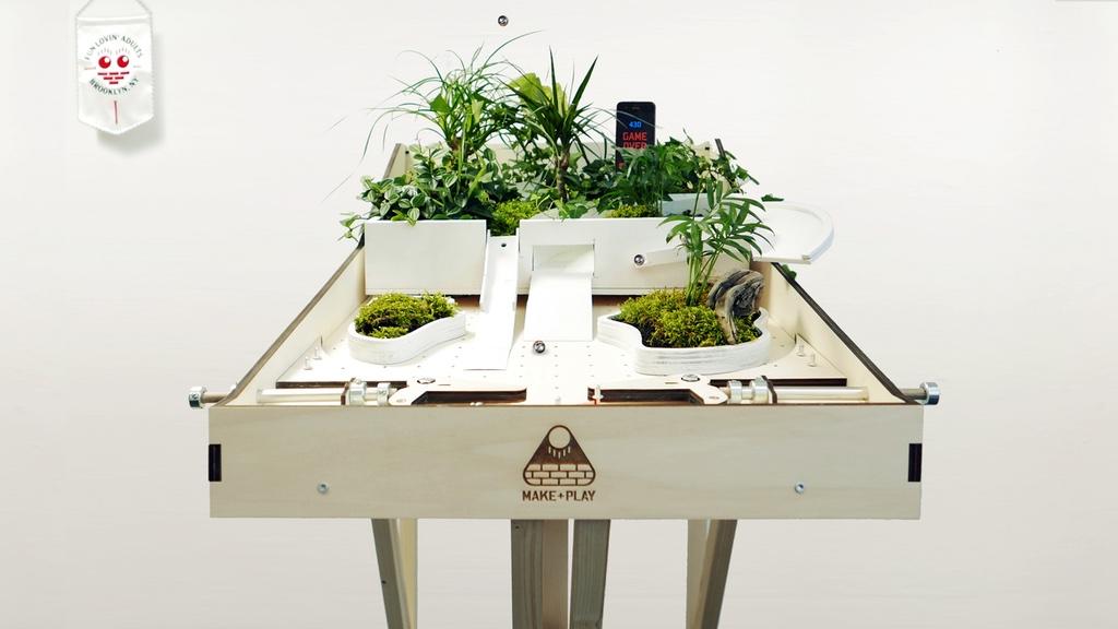 MAKERBALL - #DIY Pinball Machine bei #Kickstarter