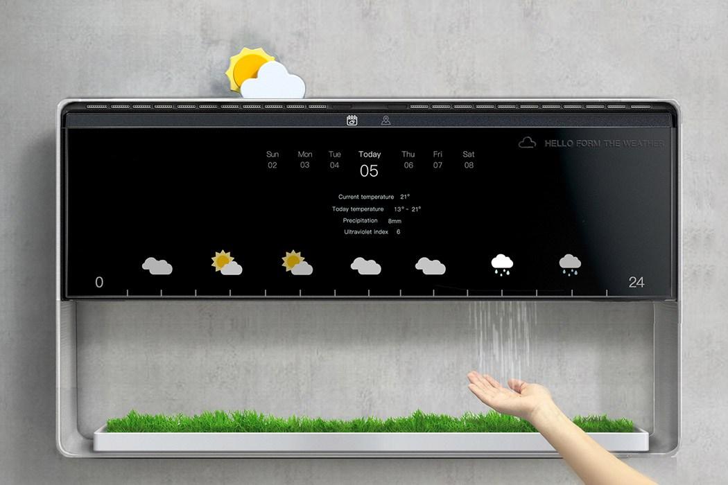Wetterstation mit fühlbarem Wetter