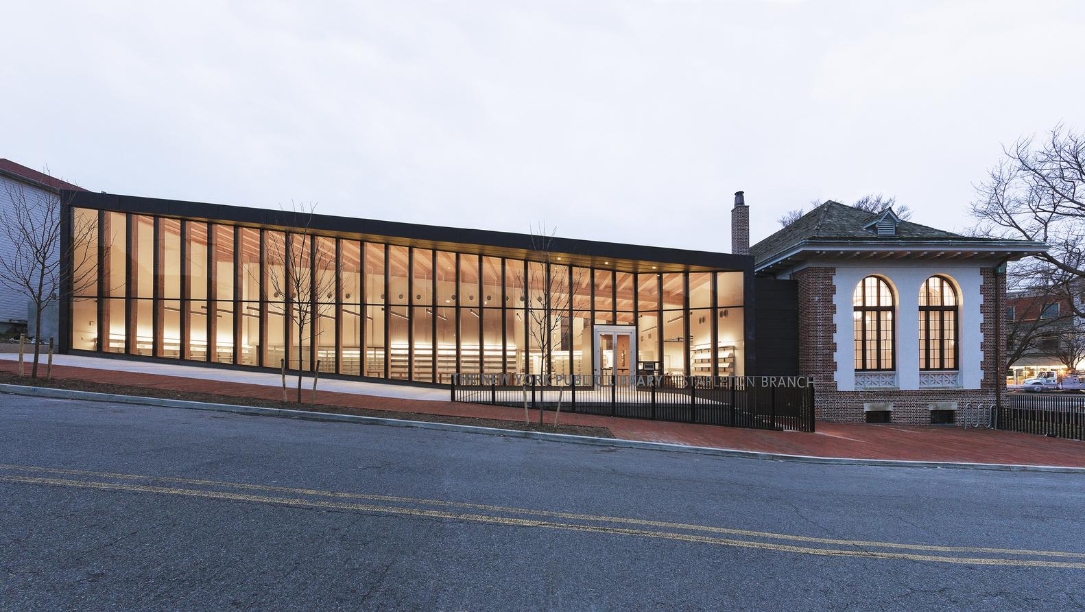 Stapleton Bibliothek auf Staten Island