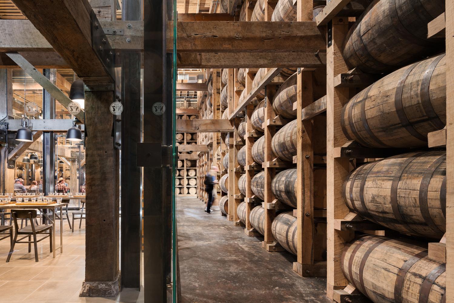 Jack Daniel's Barrel House in Tennessee