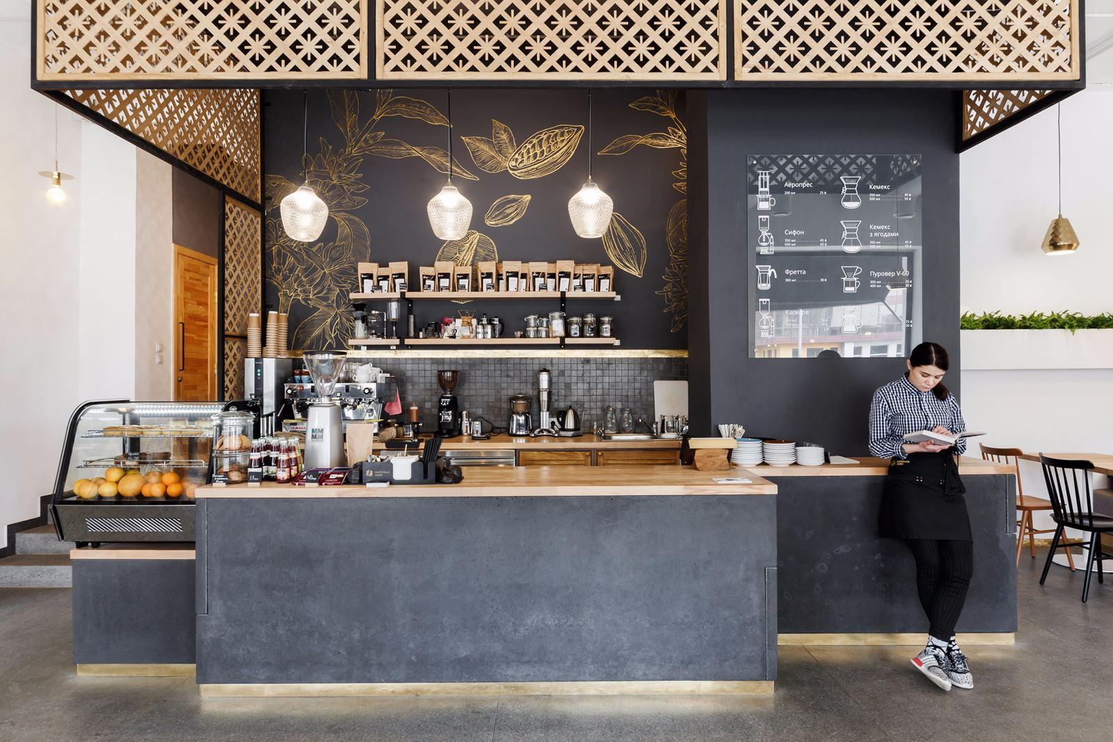Fabryke Kavy Coffee Shop in Ukraine