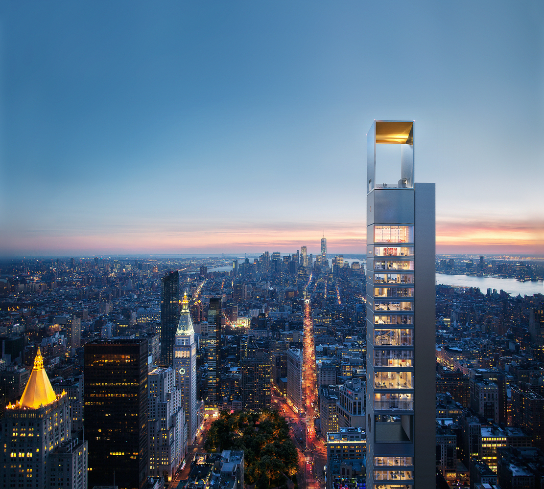 Neuer Wolkenkratzer in NY: Meganom