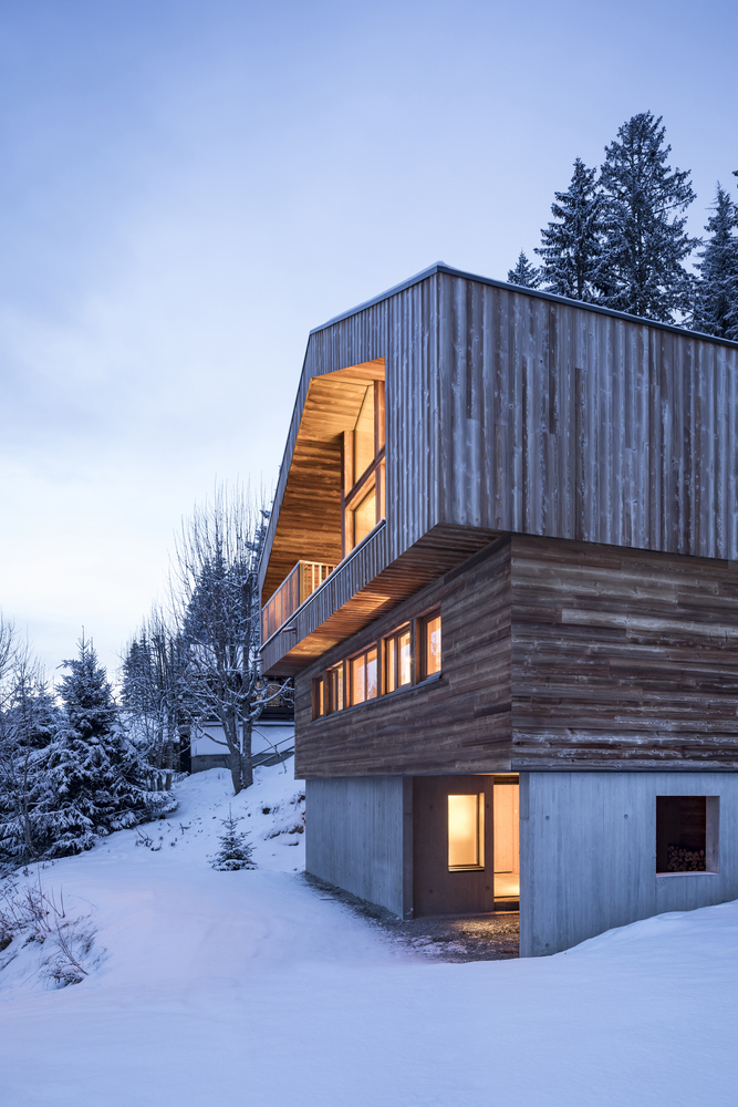 Mountain House von Studio Razavi