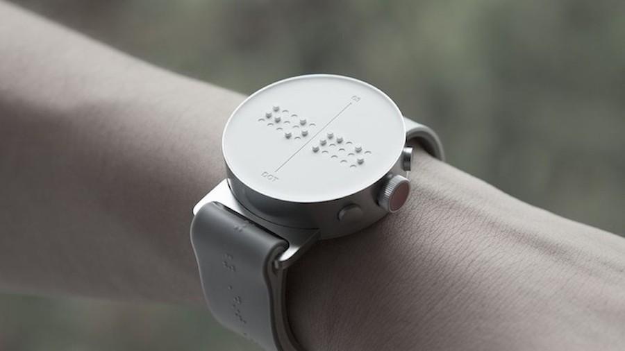 Dot - Die erste Braille Smartwatch