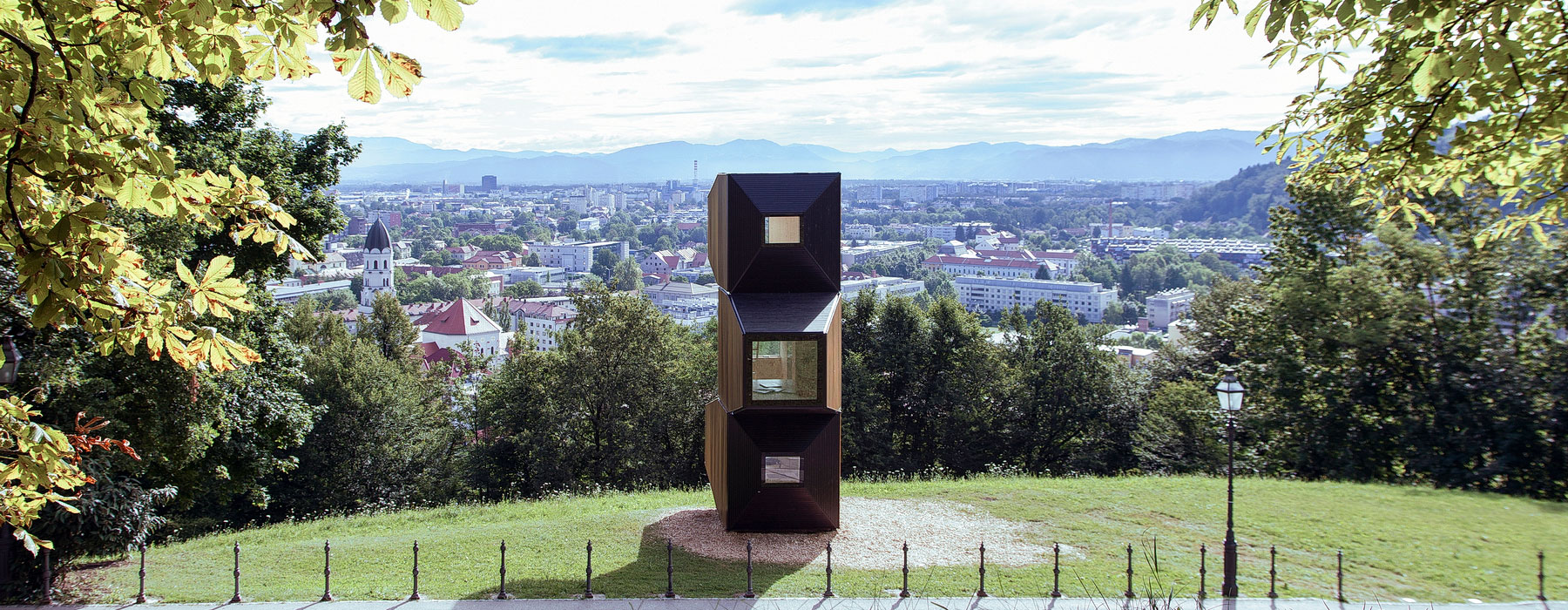 Ausguck über Ljubljana